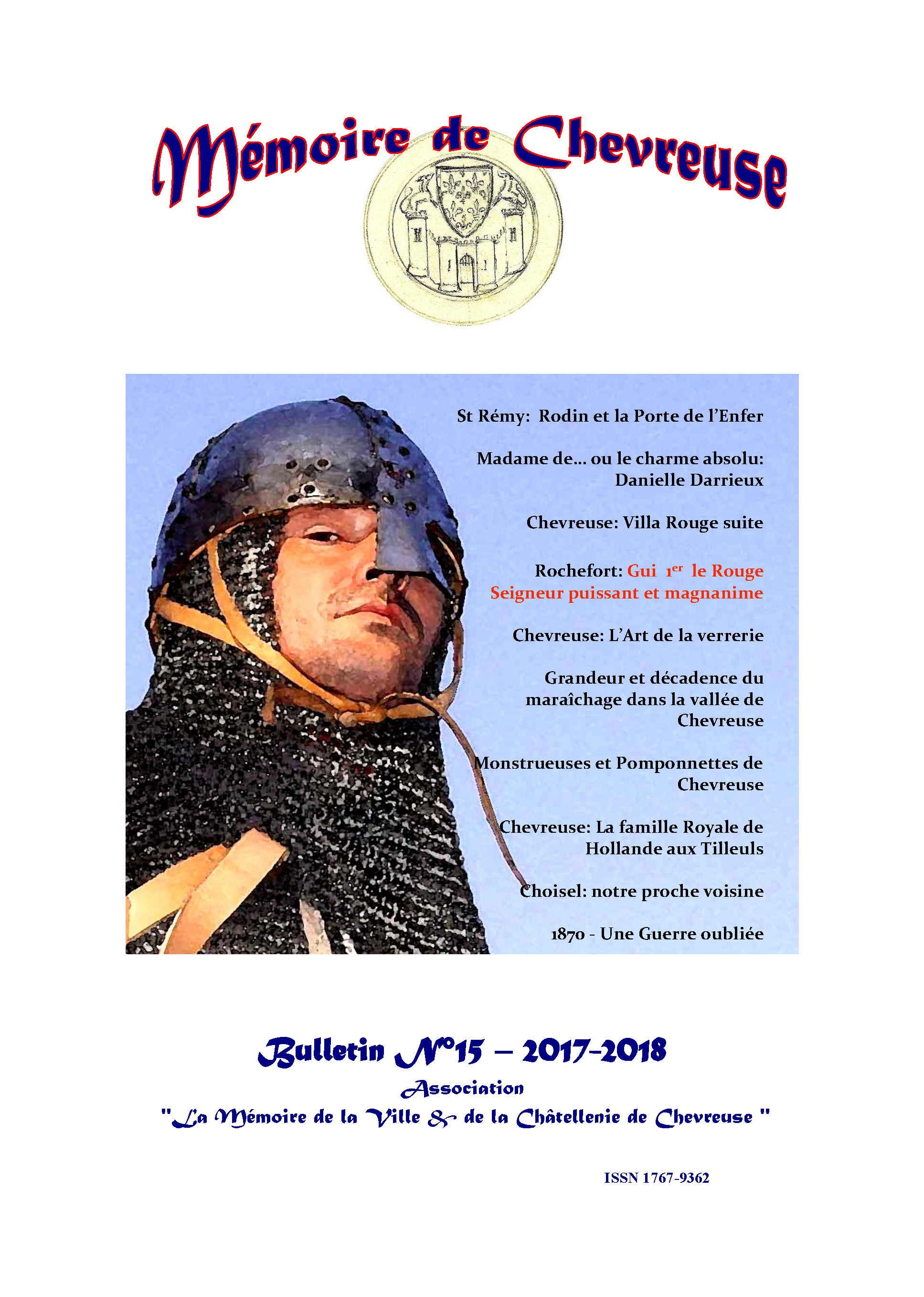 Bulletin N15 2017 couverture